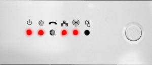 Ondes wifi hautes frequences d'une box internet